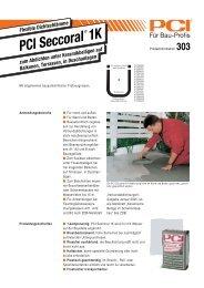 PCI Seccoral 1K ( Dichtspachtel ) - Fliesen Lerche