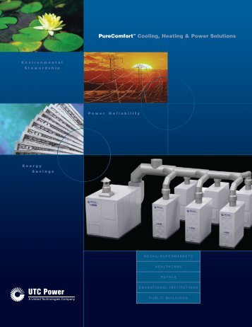 PureComfort™ Cooling, Heating & Power ... - Fuel Cell Markets