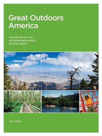Outdoor Resources Review Group Report - American Recreation ...