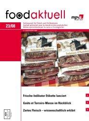 Frische-Indikator Etikette lanciert Goûts et Terroirs ... - Foodaktuell.ch