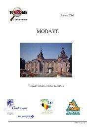 MODAVE - Fédération du Tourisme de la Province de Liège