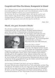 Interview mit Elias Davidsson - Freie Musikschule Basel