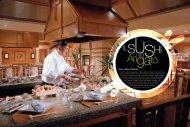 sushi senza paragoni - fleming press