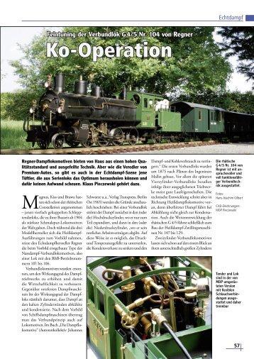 Ko-Operation - Gartenbahn Profi