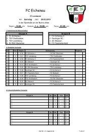 FC Eichenau - Gautinger Sportclub e.V.