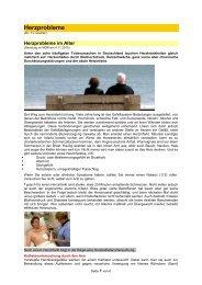 Herzprobleme - Forum-Bioenergetik eV