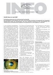 04_April 2007.pdf - Galifa Contactlinsen AG