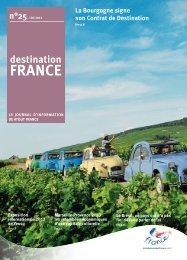 La Bourgogne signe son Contrat de Destination - Atout France