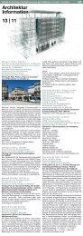 13 2011 Architektur Information - Fakultät für Architektur ...