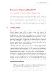 Economic Analysis of the RSPT.pdf - Frontier Economics