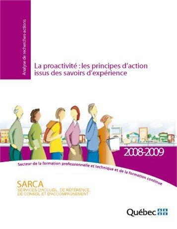 Proactivité - Faculté des sciences de l'éducation - Université Laval
