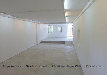 vier positionen - Galerie Weiertal