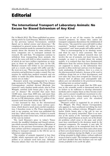 Full text pdf 40(3) - Fund for the Replacement of Animals in Medical ...