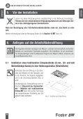Gebrauchsanweisung - Foster S.p.A. - Seite 6