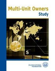 Multi-Unit Owners Study - International Franchise Association