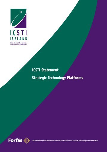Strategic Technology Platforms - Advisory Science Council