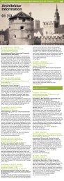 01 2013 Architektur Information - Fakultät für Architektur ...