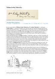 William Scollay Whitwell jr - Gästebücher von Schloss Neubeuern