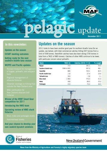 Pelagic Update December 2011 - Ministry of Fisheries