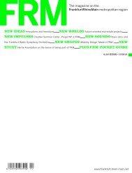 FRM Magazine Fall 2010