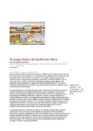 El juego lúdico de Guillermo Mora. Bea espejo ... - Formato Comodo