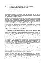 II/1 Die Bedeutung der Kanalisation in der Infrastruktur ... - FITR