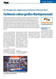 Fachleute sehen großes Marktpotenzial - Flüssiggas-Magazin