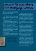 ERICH W O LFG A N G H A RTZSCH IN D ER G A LERIE LATERN E - Page 5