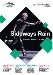 Guilherme Botelho – Cie Alias Sideways Rain - Forum-Meyrin
