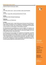 Programm Juist 2009 - Forum Unna