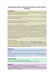 Acupuntura - Col·legi de Fisioterapeutes de Catalunya