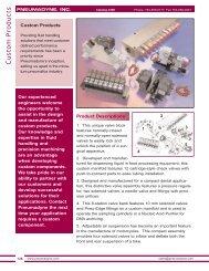 Custom Products - Fluidraulics Inc