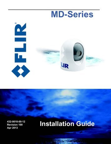 MD-Series Installation Guide - FLIR Systems