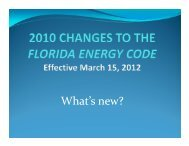 Material - Florida Building Code Information System
