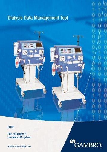 Dialysis Data Management Tool - Gambro