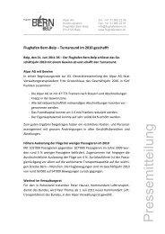 Alpar AG Turnaround im 2010 geschaftt - Bern-Belp