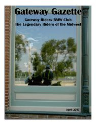 Apr 07 - Gateway Riders Index