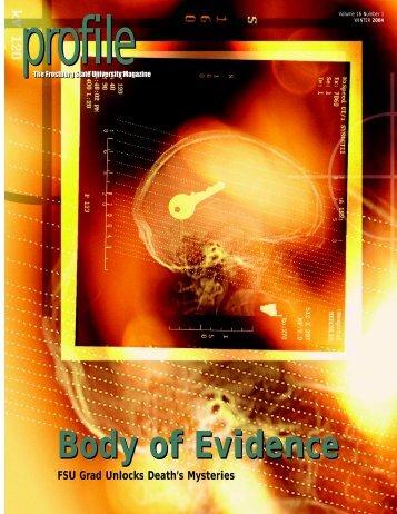 Body of Evidence - Frostburg State University