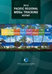 (MDGs) Tracking Report - Pacific Islands Forum Secretariat