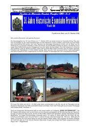 Teil III - Historische Eisenbahn Frankfurt
