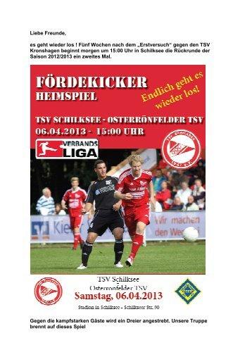 Newsletter 05.04.13 - Foerdekicker.de