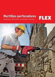 Martillos perforadores - FLEX