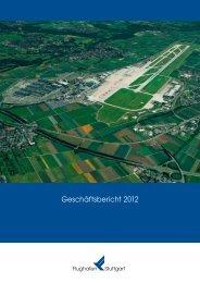 Geschäftsbericht 2012 - Flughafen Stuttgart