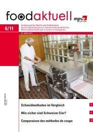 Comparaison des méthodes de coupe - Foodaktuell.ch