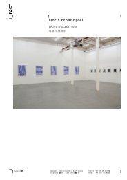 Doris Frohnapfel - Galerie b2