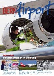 Bern Airport 1/2013 - Bern-Belp