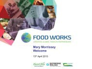 Mary Morrissey Welcome - Food Works