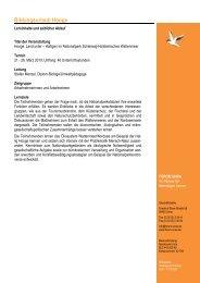 Programm Bildungsurlaub Hooge 2010 - forum unna