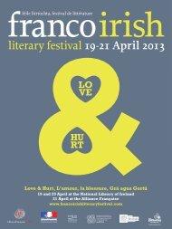 Love - Franco-Irish Literary Festival