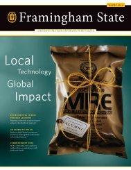 Framingham University Alumni Magazine Winter 2010